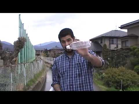 Testing the aquasafestraw -portable water filter
