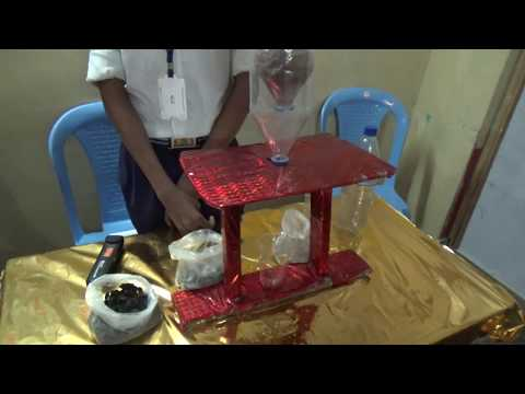 Purification of water in telugu || science exhibition ||