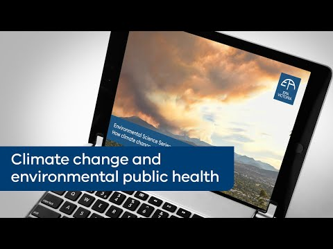 How climate change affects environmental public health