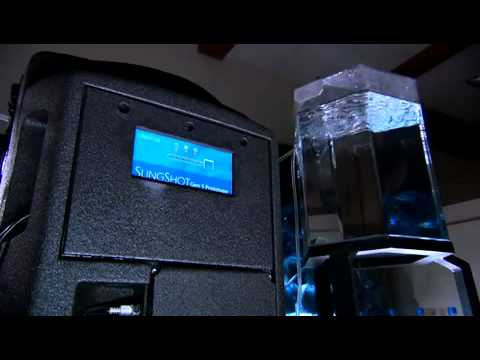 Slingshot water purifier
