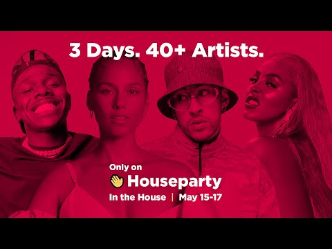 In the house – a houseparty event launching may 15th