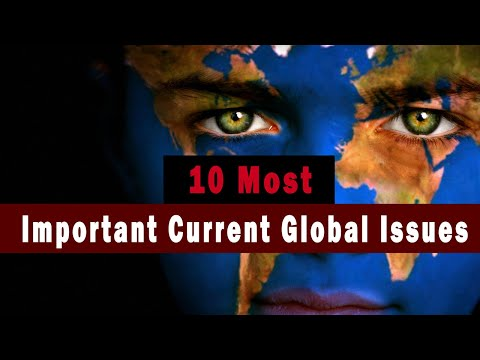 Top 10 most important global issues of today | the world issues that need attention in 2021