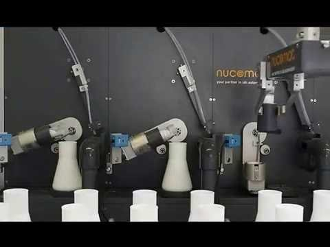 Lab automation 4 acid digestion robot