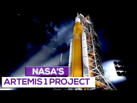 Nasa's artemis 1 project!