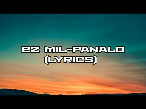 Panalo (cariñosa trap) lyrics - ez mil