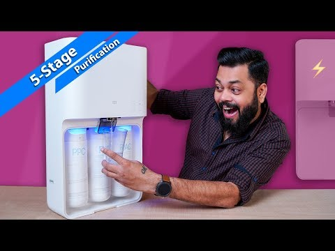 Mi smart water purifier unboxing and setup ⚡ ⚡ ⚡ must have product for every home 🚰
