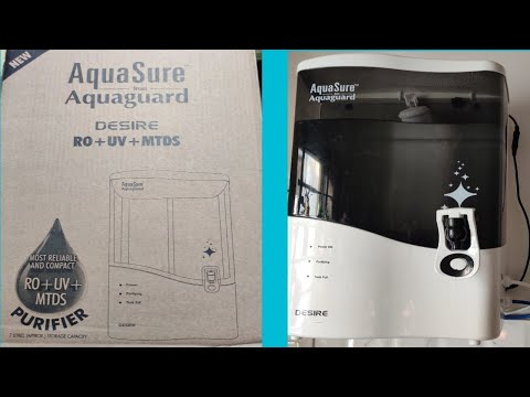 Water purifier for home   eureka forbes aquasure from aquaguard desire review