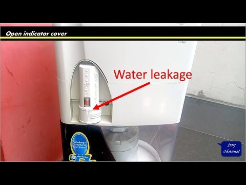 Water leakage on pureit: how to improve