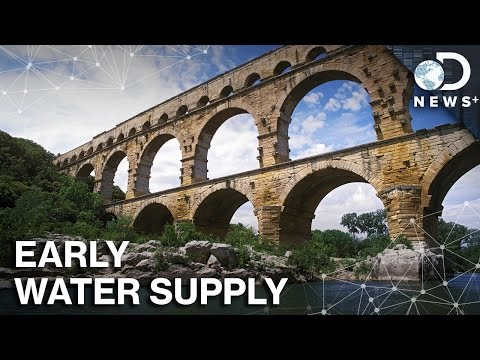 How did early civilizations supply all their drinking water?