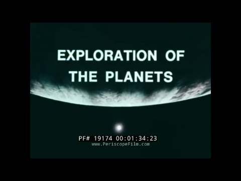 """1970s nasa film """" exploration of the planets """" viking, pioneer, mariner missions probes 19174"""