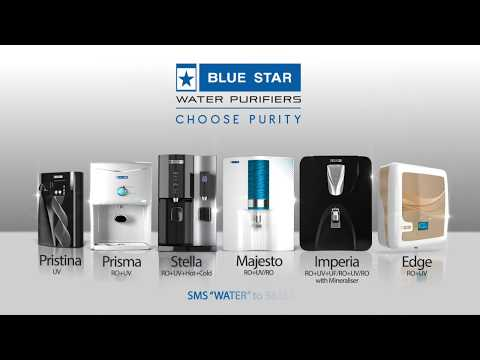 Blue star water purifiers- majesto demo video