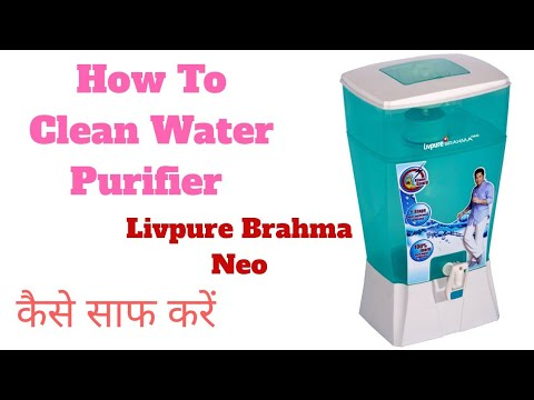 How to clean water purifier - livpure water purifier - livpure water purifier installation
