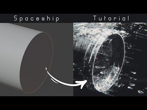 Spaceship blender tutorial