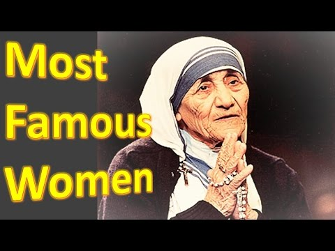 Top 5 most famous women in history / five most greatest women history in the world