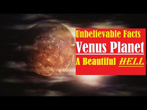 Venus planet- (venus facts, venus atmosphere, venus temperature, size, mass,rotation, life on venus)