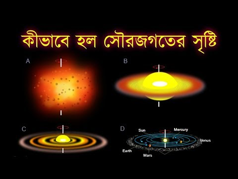 কিভাবে সৃষ্টি হল সৌরজগৎ! জানতে হলে দেখুন ভিডিও। how solar system was created!!!