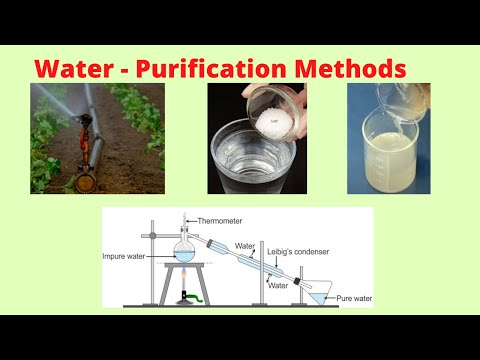 Water - purification methods - cbse 5 science