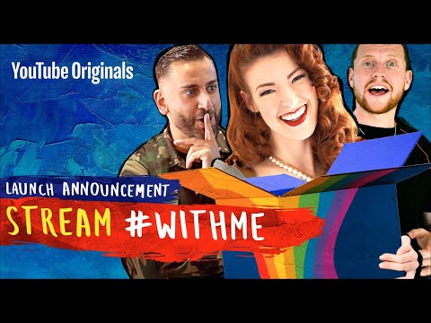 Stream #withme | games, tutorials and mystery challenges | launch announcement | fundraiser