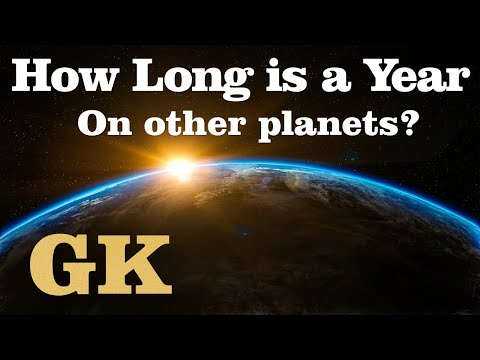 Solarsytemquiz - how long is a year on other planets? - how long planets take to orbit the sun