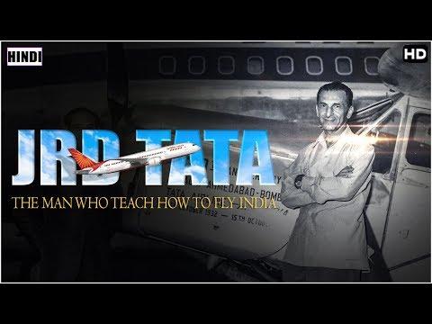 जिनके कारण भारत ने ली पेहली उड्डान , टाटा संघ के गरुड जानिये कौन है वह | fire bird jrd tata