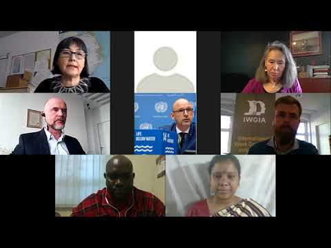 Custodians of a healthy planet - unpfii 2021 side event