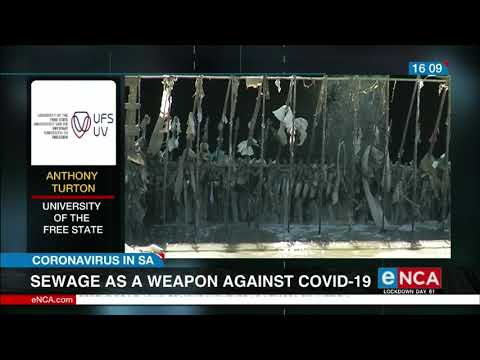 Sewage as a weapon against covid-19