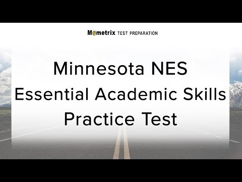 Minnesota nes essential academic skills practice test