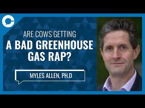 Are cows getting a bad greenhouse gas rap? (w/ myles allen, phd)
