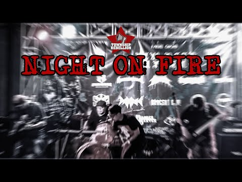 Township rebellion - night on fire || live new year inferno at fairway cafe