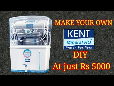 Diy ro water filter    home made kent mineral ro water filter