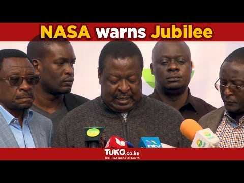 Nasa has warned jubilee against ethnic profiling and genocide