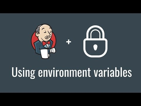 Using environment variables (get started with jenkins, part 7)