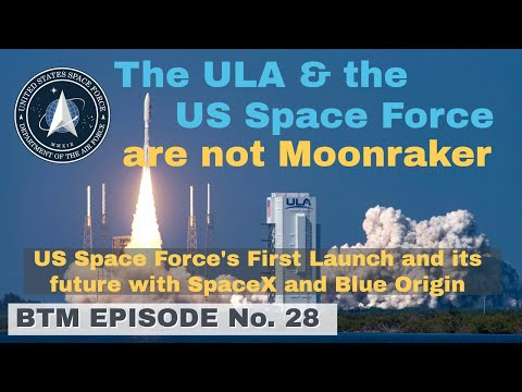The ula & the us space force are not moonraker   future to be pushed by spacex and blue origin?