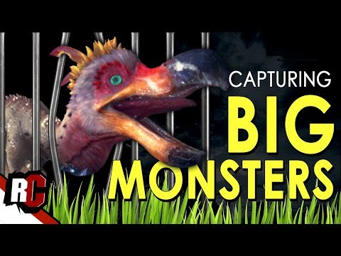 How to capture big monsters   monster hunter world (trapping and capturing monsters)