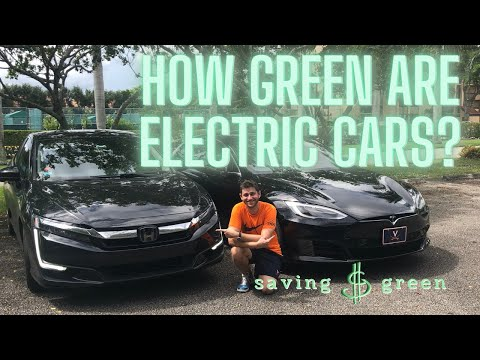 Are electric cars better for the environment? life-cycle analysis of lithium-ion battery vehicles