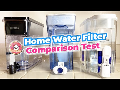 Which water filter is the best? brita vs pur vs zerowater water filter review comparison