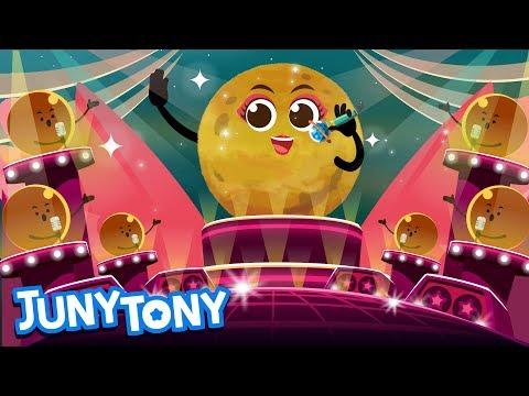 Venus | space song for kids | learn planet for kindergarten | junytony