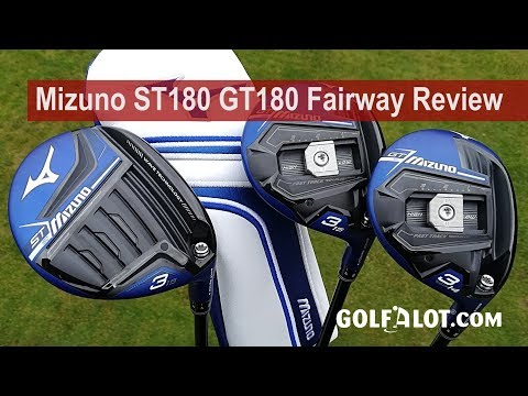 Mizuno st180 gt180 fairway review by golfalot