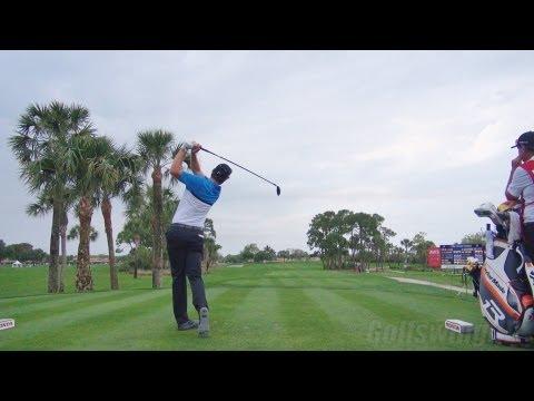 Golf swing 2013 - justin rose fairway wood - dtl regular & slow motion - 1080p hd