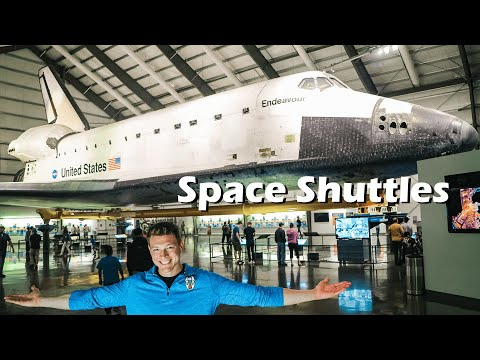 How many space shuttles are there?