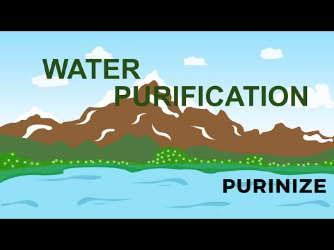 Purinize water purification - how it works