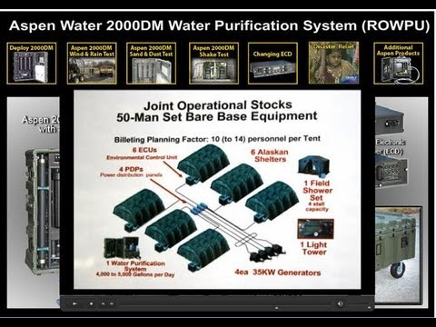 Portable water purification systems