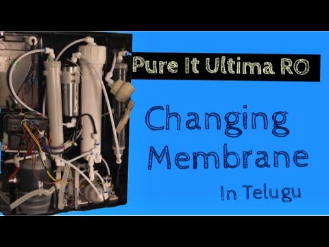 How to repair pureit ro water purifer at home..... explaining its working and membrane problem