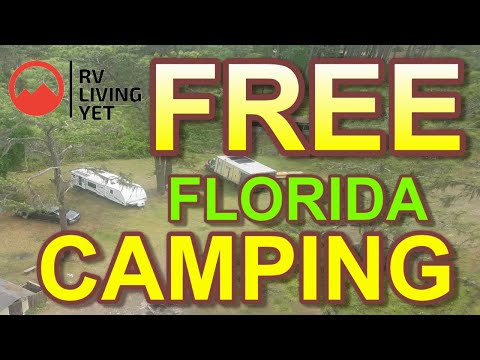 Free camping in florida | rv camping in florida national forest | boondocking camping in florida