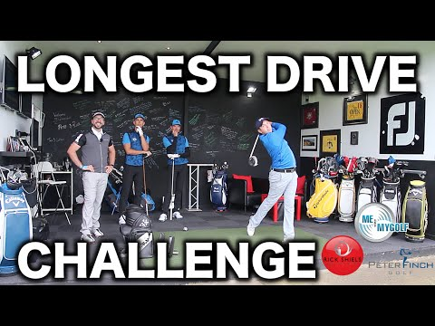 Longest drive challenge - me & my golf vs rick shiels