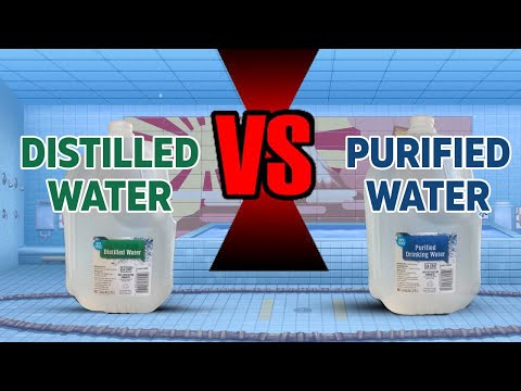Distilled vs purified water... which one is the best for our health?