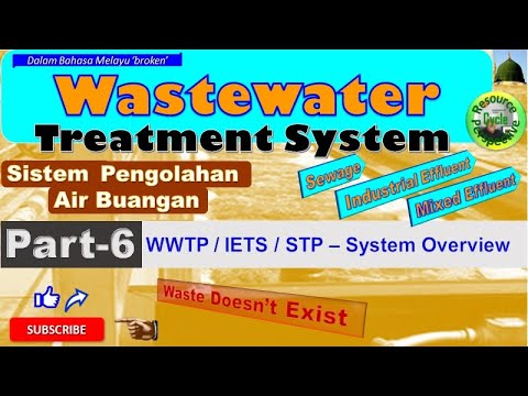 Water & wastewater treatment part-6 iets stp overall stages of treatment process.