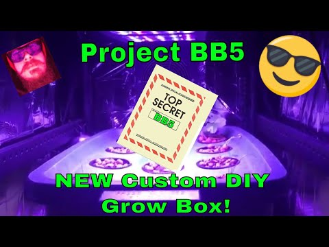 Diy grow box new indoor hydroponic grow box using led lights and dwc simple hydroponics