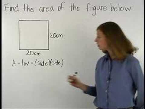Area of a square - mathhelp.com - math help