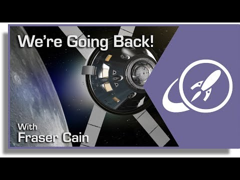 It's official, nasa is going back to the moon. and so is everyone else!